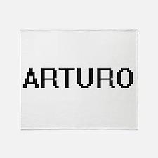 Arturo Digital Name Design Throw Blanket