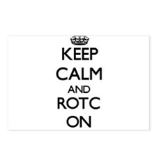 Keep Calm and Rotc ON Postcards (Package of 8)