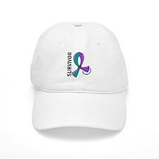 Thyroid Cancer Survivor 12 Baseball Cap