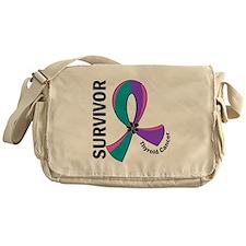 Thyroid Cancer Survivor 12 Messenger Bag