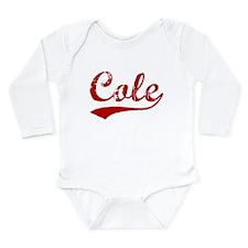 Cute Cole Long Sleeve Infant Bodysuit