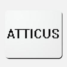 Atticus Digital Name Design Mousepad