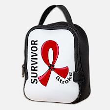 Stroke Awareness V12 Neoprene Lunch Bag