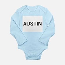 Austin Digital Name Design Body Suit