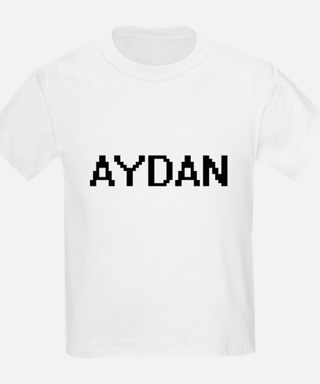 Aydan Digital Name Design T-Shirt