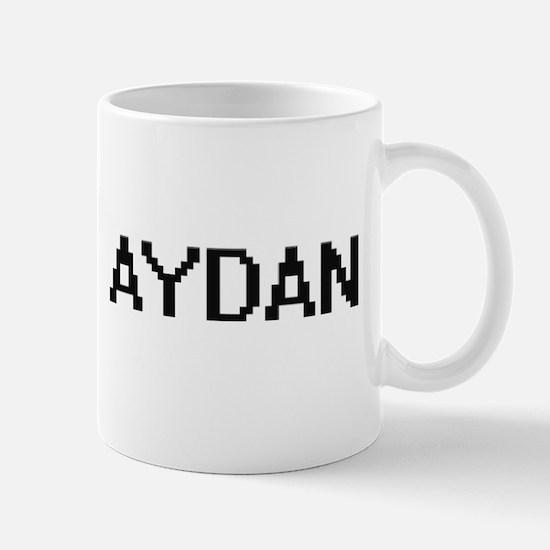 Aydan Digital Name Design Mugs
