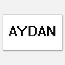 Aydan Digital Name Design Decal