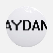 Aydan Digital Name Design Ornament (Round)