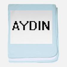 Aydin Digital Name Design baby blanket