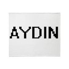 Aydin Digital Name Design Throw Blanket