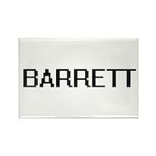 Barrett Digital Name Design Magnets