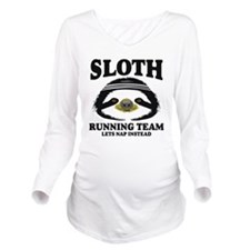 SLOTH RUNNING TEAM, LETS NAP INSTEAD Long Sleeve M
