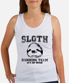 SLOTH RUNNING TEAM, LETS NAP INSTEAD Tank Top