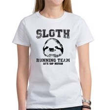 SLOTH RUNNING TEAM, LETS NAP INSTEAD T-Shirt