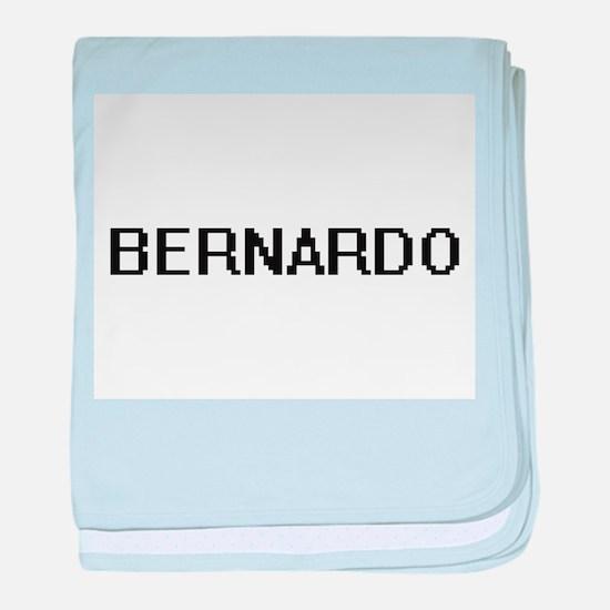Bernardo Digital Name Design baby blanket