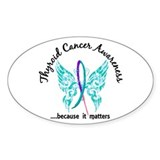 Thyroid cancer awareness 10 Pack