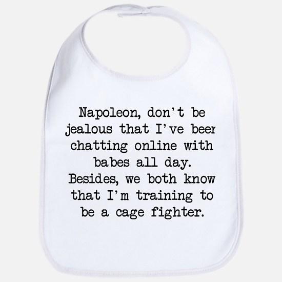 Don't Be Jealous (blk) - Napoleon Bib