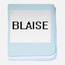 Blaise Digital Name Design baby blanket