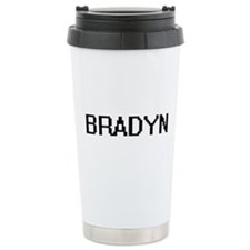 Bradyn Digital Name Des Travel Mug