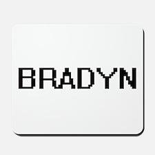 Bradyn Digital Name Design Mousepad