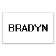 Bradyn Digital Name Design Decal