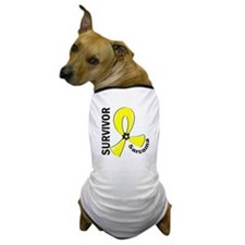 Sarcoma Survivor 12 Dog T-Shirt
