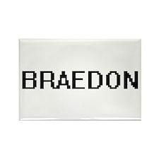 Braedon Digital Name Design Magnets
