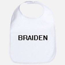 Braiden Digital Name Design Bib