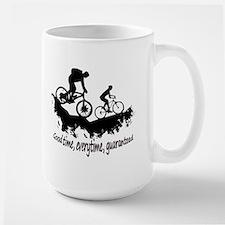 Mountain Biking Good Time Inspirational Quote Mugs