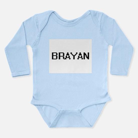 Brayan Digital Name Design Body Suit