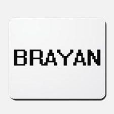Brayan Digital Name Design Mousepad