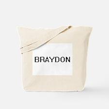 Braydon Digital Name Design Tote Bag
