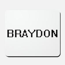 Braydon Digital Name Design Mousepad