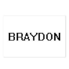 Braydon Digital Name Desi Postcards (Package of 8)