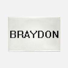 Braydon Digital Name Design Magnets