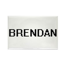 Brendan Digital Name Design Magnets