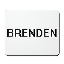 Brenden Digital Name Design Mousepad