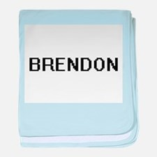 Brendon Digital Name Design baby blanket