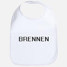 Brennen Digital Name Design Bib