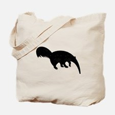 Distressed Anteater Silhouette Tote Bag