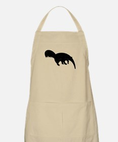 Distressed Anteater Silhouette Apron
