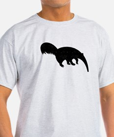 Distressed Anteater Silhouette T-Shirt
