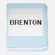 Brenton Digital Name Design baby blanket