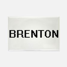 Brenton Digital Name Design Magnets