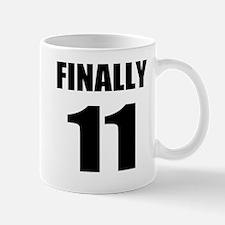 11th Birthday Humor Mug