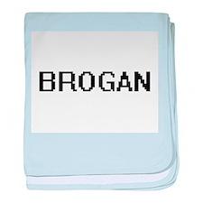 Brogan Digital Name Design baby blanket