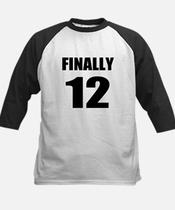 12th Birthday Humor Baseball Jersey