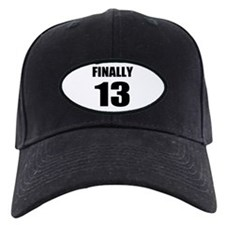 13th Birthday Humor Baseball Hat