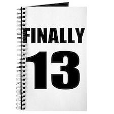 13th Birthday Humor Journal