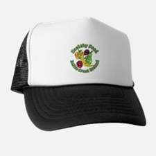 Healthy Food Builds Great Brains! Trucker Hat